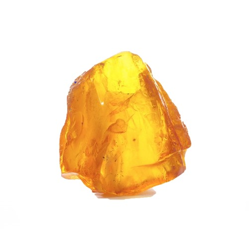 Amber Crystal Gem Stone Crystal Orange in Color represents the Solar Plexus available for review in our Crystal Catalog