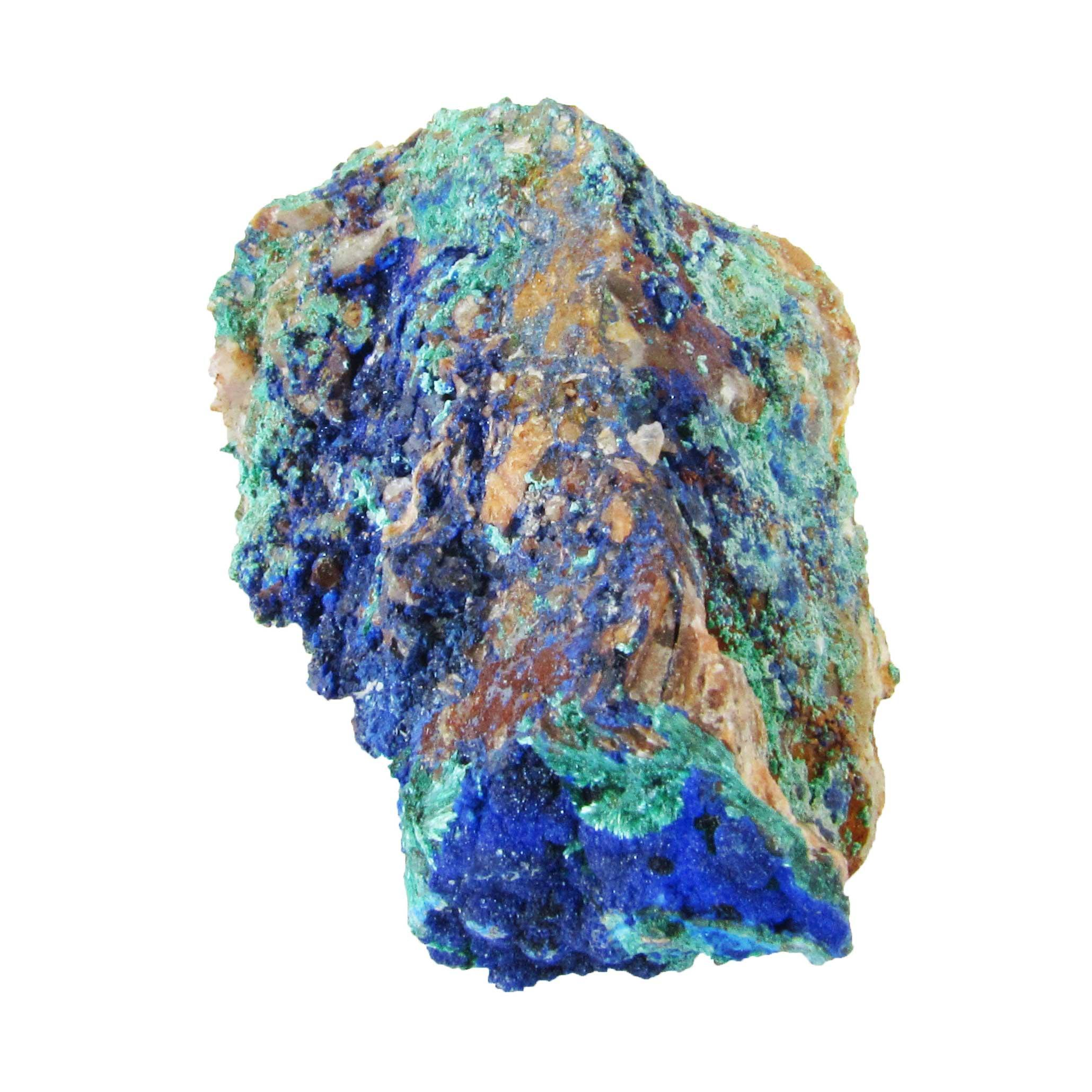 crystal azurite stone gem ideal for Third Eye and Throat chakra healing rituals forthefeels