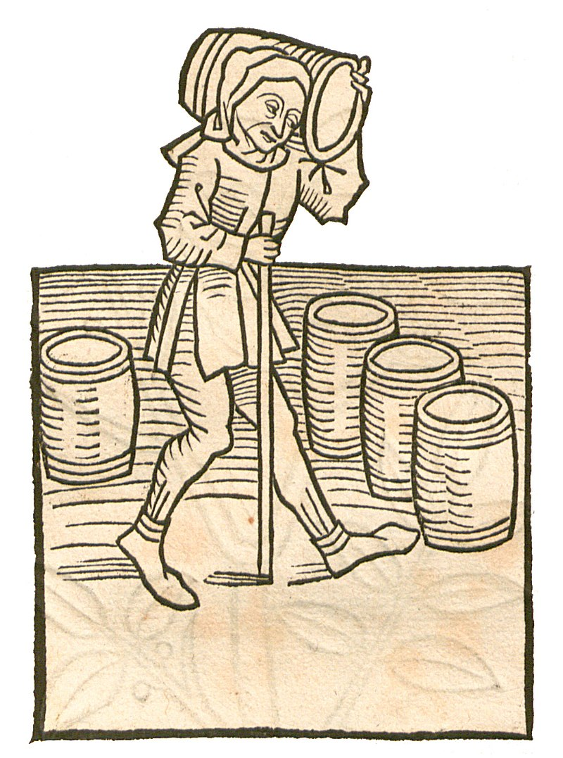 The Garden of Health - Natural History Encyclopedia by Jacob Maydenbach published in 1491.